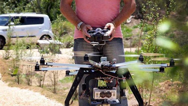 O equipamento é da empresa Aero 360º e captará as imagens em alta resolução que serão transmitidas em tempo real para um tablet ou smartphone. (Foto: Divulgação)