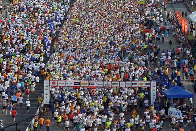 Largadas começam às 6h40, na Praça Charles Miller, no Pacaembu. (Foto: Sérgio Shibuya/MBraga Comunicação)