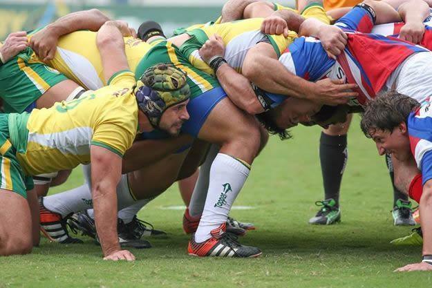 Tupis encaram duas das melhores equipes argentinas como preparação para o Sul-Americano de Rugby XV. (Foto: Fotojump)