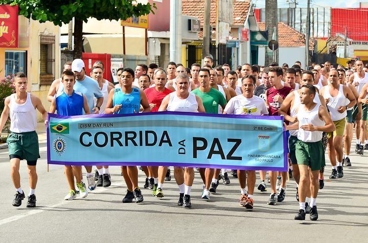 VÍDEO: Em Pinda, Exército Brasileiro realiza o CISM Day – Corrida da Paz