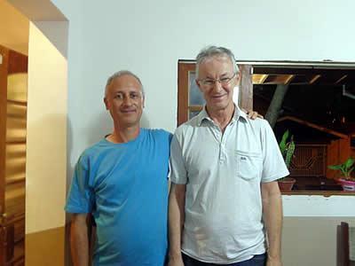 Antonio de Oliveira e José Ouverney. (Foto: divulgação)