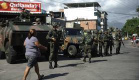 Forças  Armadas estão na região desde  abril  do ano passado. (Foto:      Fernando Frazão/Agência Brasil)