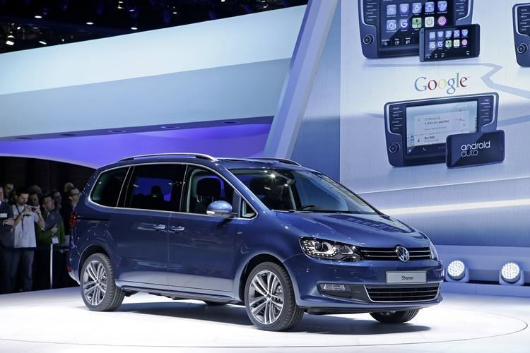 Volkswagen Sharan. (Foto: VW)