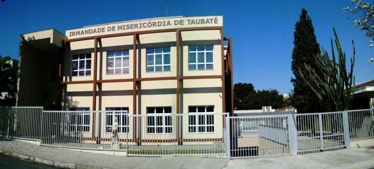 Prédio onde funciona a Irmandade de Taubaté atualmente, localizada à Rua Portugal, 169. (Foto: Divulgação)