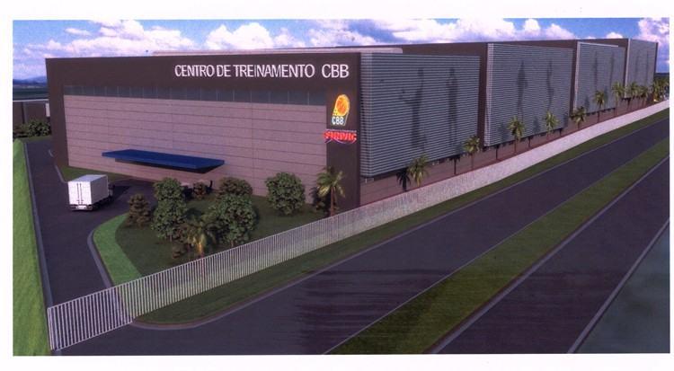 Ilustração mostrando como seria a construção. (Foto: divulgação/CBB)