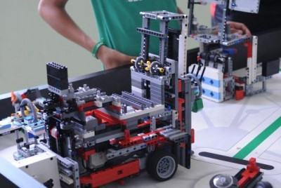 Torneio de robótica reúne alunos de 18 estados. (Foto: Antonio Cruz/Agência Brasil)
