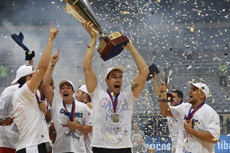 Esta foi a 5ª conquista seguida de um time brasileiro em torneios continentais. (Foto: Gaspar Nóbrega/FIBA Américas)