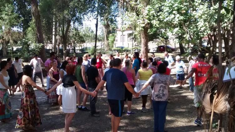 Aula acontece no Bosque da Princesa. (Foto: Fernanda Munhoz/PMP)