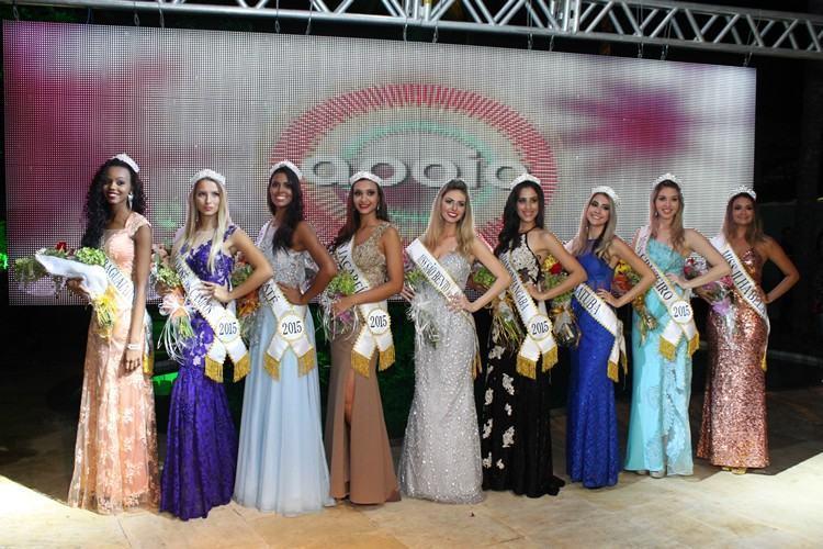 Vencedoras da Seletiva Regional do Miss São Paulo 2015. (Foto:   Studio Art Fotografia/Divulgação)