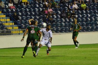Estádio Martins Pereira, palco da partida de ontem (Foto: Tião Martins/TM FotosTião Martins/TM Fotos: Tião Martins/TM Fotos)