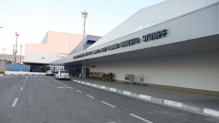 O aeroporto de São José foi apontado em 2014 como o terminal aéreo com maior potencial de desenvolvimento econômico. (Foto: Charles de Moura/PMSJC)