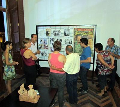 Exposição no Palacete 10 de Julho. (Foto: divulgação/PMP)
