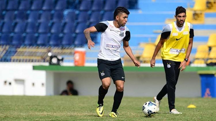 Em julho de 2014 o Santos utilizou o Estádio Martins Pereira para fazer uma intertemporada, durante a Copa do Mundo. (Foto: Claudio Capucho/PMSJC)