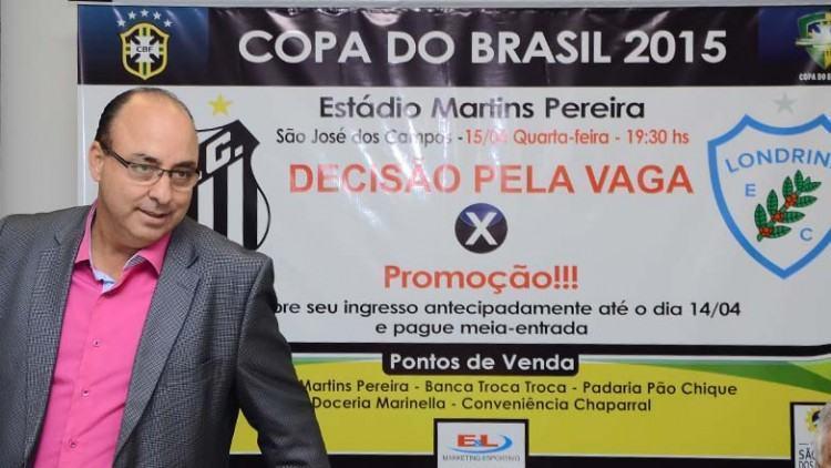 Para representante do time, Edivaldo Ferraz, a intenção é levar os jogos para cidades que tenham estrutura para receber as partida. (Foto: José Aparecido/PMSJC)