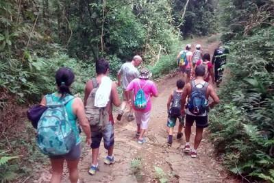 A cada domingo, sempre às 9h, até o final do mês de abril, o grupo - que é aberto à participação de todos - vai fazer uma trilha, com diferentes níveis de dificuldade. (Foto: Divulgação/PMI)