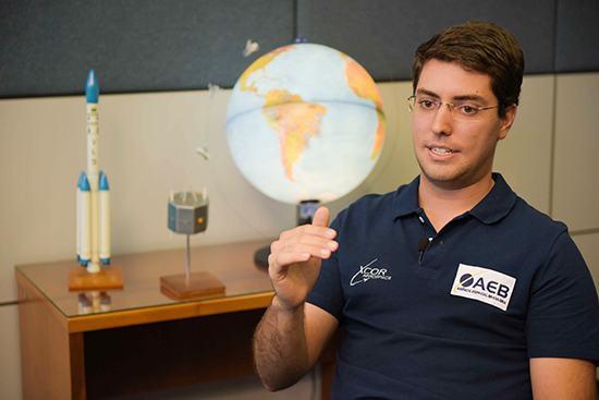 Pedro Nehme fez estágio de nove meses na Nasa, e agora pretende contribuir para o programa espacial brasileiro.(Foto: Isabelle Araújo/MEC)