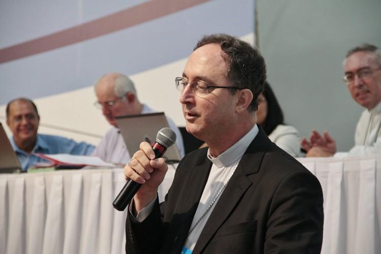 Dom Sérgio da Rocha, foi eleito na manhã desta segunda-feira (20), como presidente da Conferência Nacional dos Bispos do Brasil (CNBB). (Foto: Divulgação/CNBB)