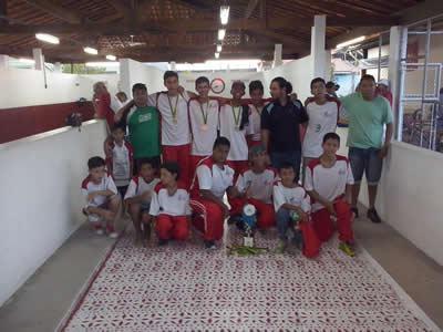 A escolinha de malha de Pinda é a atual Bi-Campeã Paulista e nos últimos anos venceu todos os torneios regionais, mostrando a força da cidade na modalidade. (Foto: Divulgação