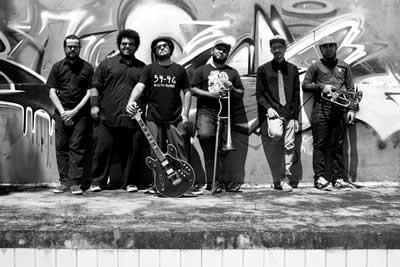 Após a Prosa, teremos uma apresentação da banda taubateana, SKAFANDRO. (Foto: Divulgação)