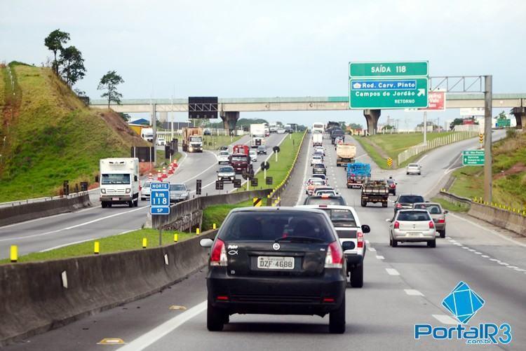 Segundo a concessionária que administra a via, não houve vítima fatais no feriado prolongado de Tiradentes. (Foto: Luis Claudio Antunes/PortalR3)