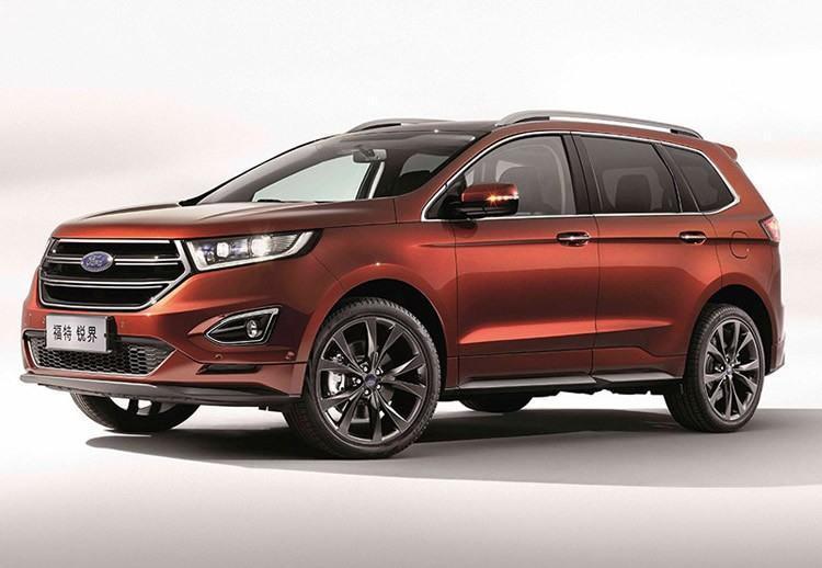 Ford Edge é uma das novidades para a China. (Foto: divulgação)