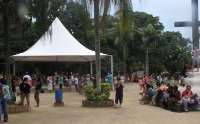 Gincanas, oficinas de pintura, pipa e dobradura, além do Ritmo Livre agitam os visitantes do local, das 9 às 13h, neste domingo, dia 26. (Foto: Divulgação/PMT)