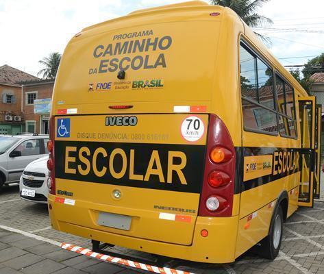 O ônibus adaptado possui duas áreas reservadas para cadeiras de rodas e 13 assentos, devidamente adequados à realidade do município. (Halsey Madeira  PMSS)