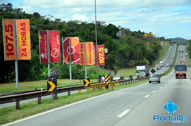 Tráfego na via Dutra deve aumentar a partir das 14h desta quinta-feira. (Foto: Luis Claudio Antunes/PortalR3)