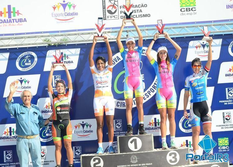 No feminino, São José dos Campos teve Luciene Ferreira da Silva, em segundo lugar. (Foto: Luis Claudio Antunes/Bike76)