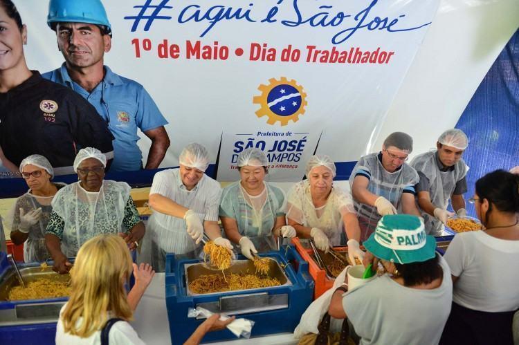A Festa do Trabalhador foi uma promoção da Prefeitura de São José dos Campos, com atividades da Sociedade de Amigos do Bairro Novo Horizonte. (Foto: Claudio Capucho/PMSJC)