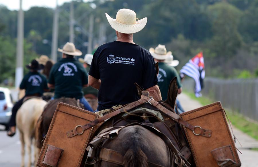 VÍDEO: cavalgada abrilhanta o Festival Tropeiro do Vale do Paraíba