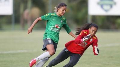 Para esta etapa de trabalho, o técnico Doriva Buena relacionou 28 jogadoras. (Foto: Rafael Ribeiro/CBF)