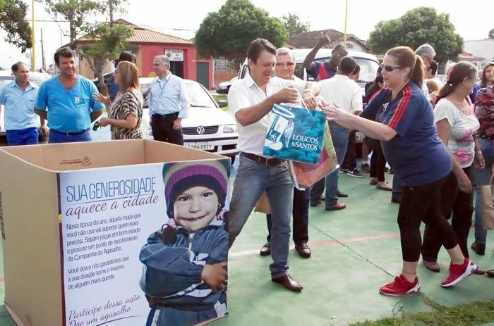 Todo material será destinado às entidades e famílias carentes do município. (Foto: divulgação/PMP)