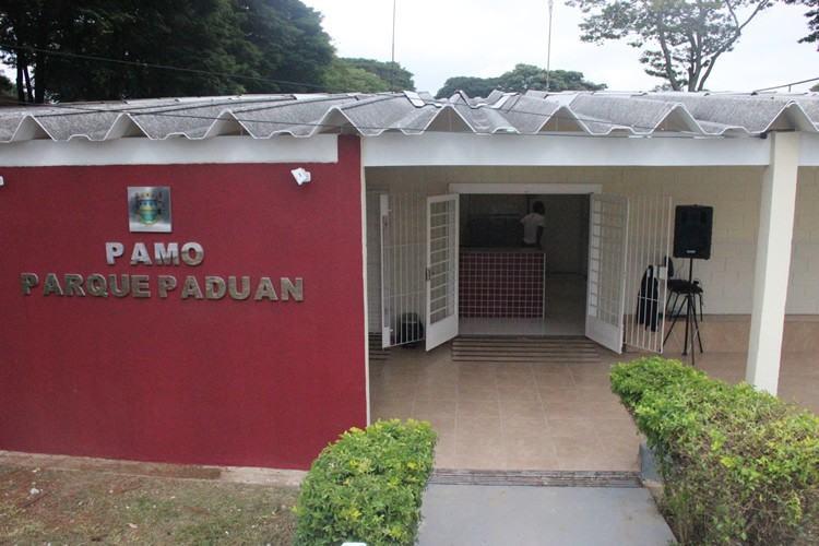 O Pamo do Parque Paduan fica na Rua Oscar Severiano dos Anjos, s/n. (Foto: Divulgação/PMT)