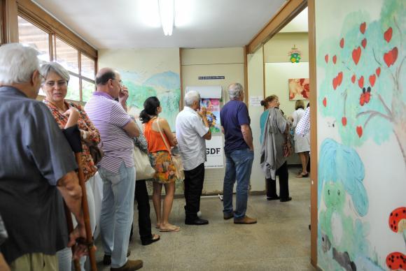 Postos de saúde abriram neste sábado para o Dia D da Campanha de Vacinação contra a Gripe. (Foto: Elza Fiúza/Agência Brasil)