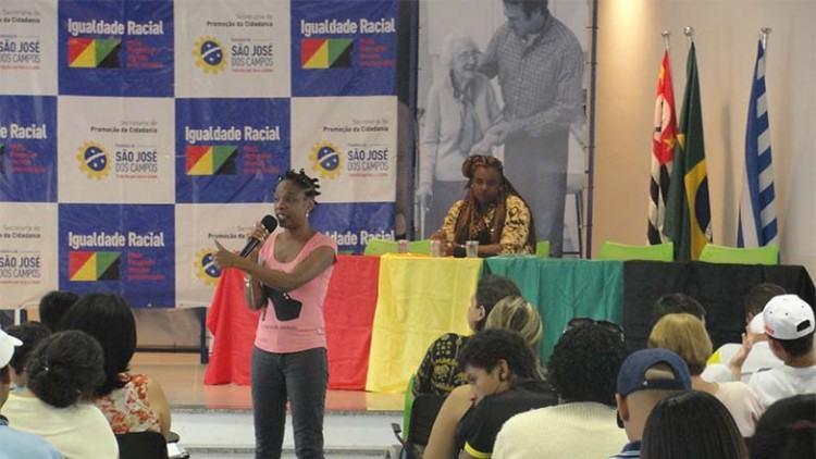 O objetivo da jornada é debater e analisar os avanços das políticas públicas de promoção da igualdade racial, voltadas para os direitos dos indivíduos e grupos raciais e étnicos. (Foto: Divulgação/PMSJC)