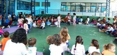 . Cada escola desenvolverá atividades diversas entre jogos populares, gincanas, rodas cantadas, oficinas e apresentações teatrais. (Foto: Divulgação/PMC