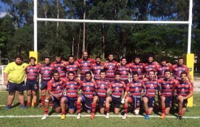 Invicta, a equipe adulta do São José Rugby venceu o Rio Branco, em partida disputada na cidade de Cotia. (Foto: Divulgação São José Rugby e Jacareí Rugby)