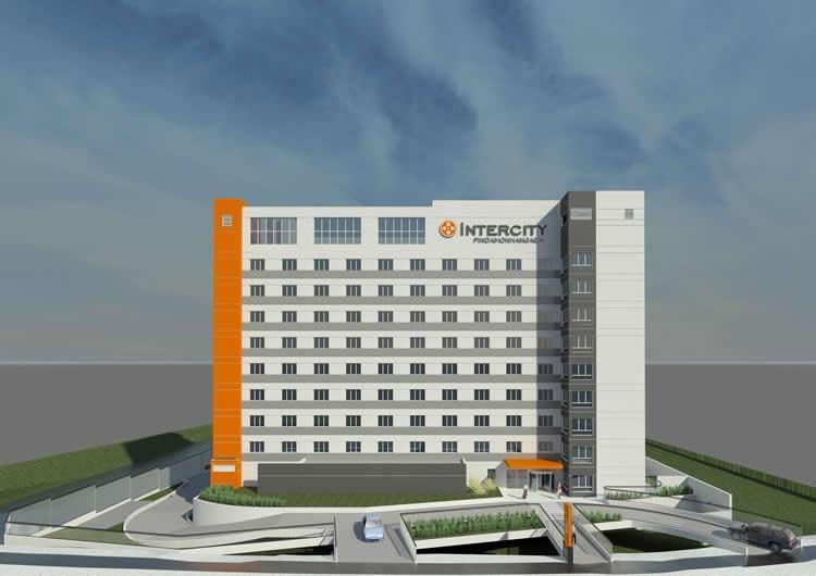 Vista geral do hotel. (Foto: divulgação)