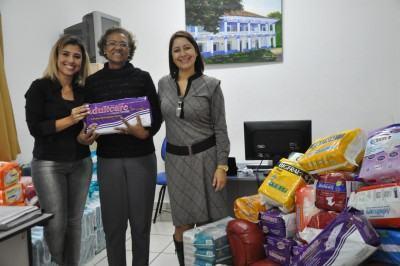 A entidades beneficiadas foram: Apae, Casa São Francisco de Idosos, Casa do Ancião e Casa Recomeço. (Foto: Divulgação (PMT)
