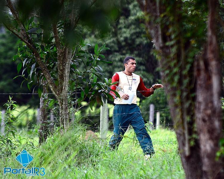 Atleta durante a prova realizada no Haras Paulista, em Pindamonhangaba. (Foto: Luis Claudio Antunes/PortalR3)