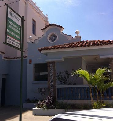 Sede do Fundo Social de Pindamonhangaba. (Foto: divulgação)