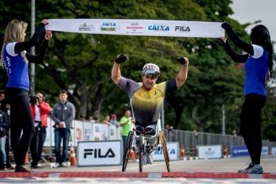 Fernando Aranha foi primeiro atleta paralímpico do Brasil a participar de uma edição dos Jogos de Inverno, em Sochi-2014, na Rússia. (Foto: Daniel Zappe/CPB/MPIX)