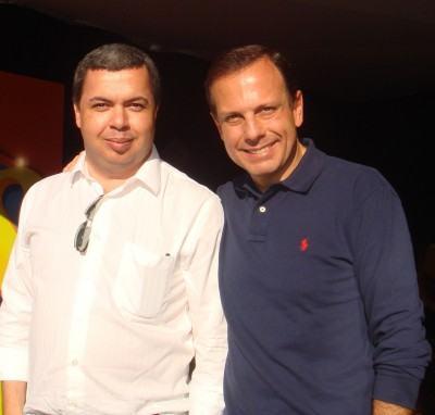 Empresários Marco Fenerich e João Dória Jr. (Foto: Divulgação)