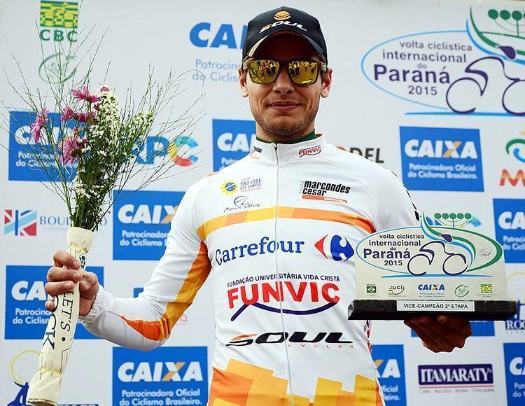 Carlos Manarelli ficou com o 2º lugar na 2ª etapa. (Foto: Luis Claudio Antunes/Bike76)