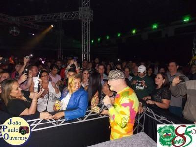 Ele apresentou seus grandes sucessos, entre eles Sou Boy e Tic Tic Nervoso, e diversas músicas da banda Legião Urbana, Paralamas do Sucesso e outras. (Foto: João Paulo Overney/AAF)