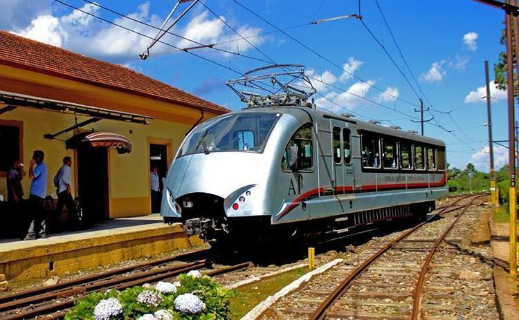 Automotriz A1 na Estação Eugênio Lefèvre, em Santo Antônio do Pinhal. (Foto: Christian Zichelli/Divulgação)