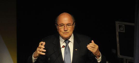 A renúncia foi anunciada há pouco, pelo próprio Blatter, durante entrevista coletiva concedida em Zurique, na Suíça. (Foto: Tânia Rêgo/Agência Brasil)