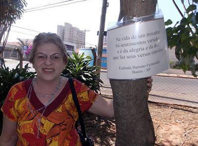 Eulinda Barreto Fernandes:  69 anos no ano de 2015 – Bauru - SP. (Foto: divulgação)