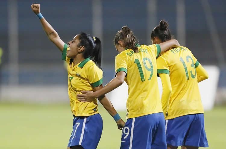 Seleção Brasileira fará sua estreia no dia 9, contra a Coréia. (Foto: Rafael Ribeiro/ CBF (26/09/2014))